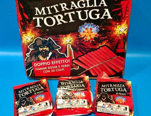 Fuochi D'Artificio Mitraglia Tortuga